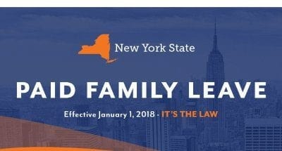 2019 NYS Paid Family Leave Rate Increase