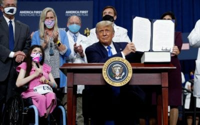 President Issues Health Care Plan Executive Order