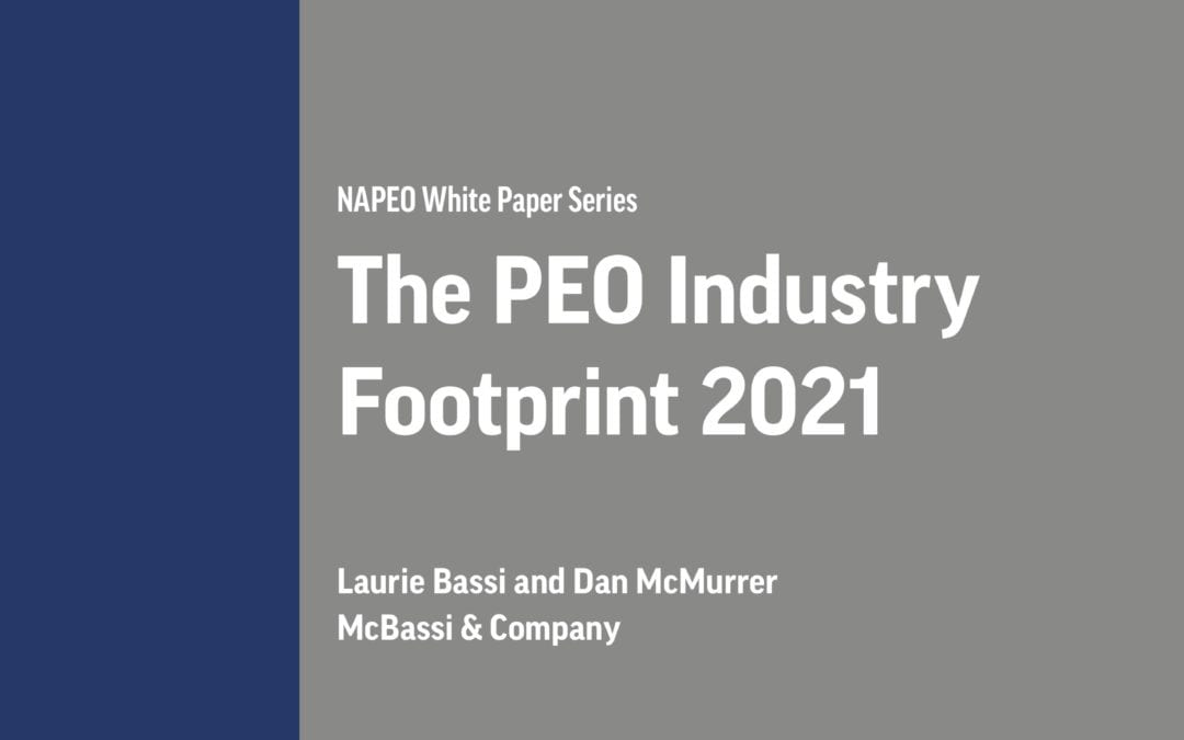 PEO White Papers: The PEO Industry Footprint in 2021